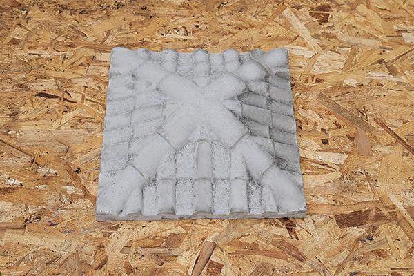 Крышка на кирпичный столб «Черепица» 445*445   Фото - 3