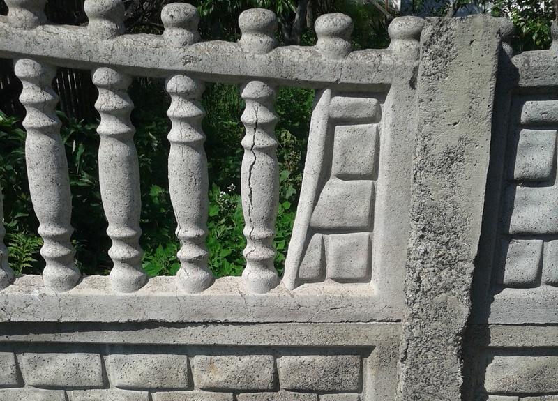 Качество бетонного забора   Фото - 0