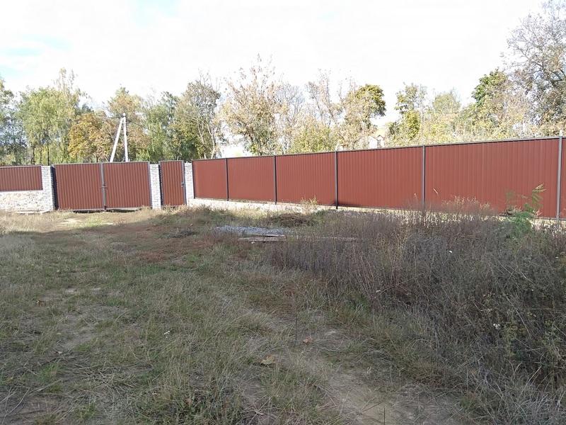 Забор из профнастила стандарт   Фото - 0