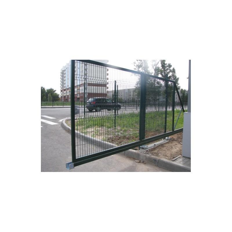 Ворота откатные 3Д сетка   Фото - 2