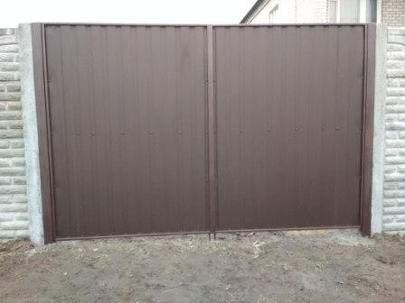 Ворота распашные   Фото - 0
