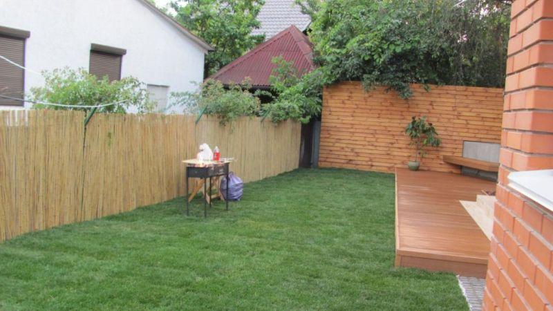 Деревянный забор доска внахлест | Фото - 6