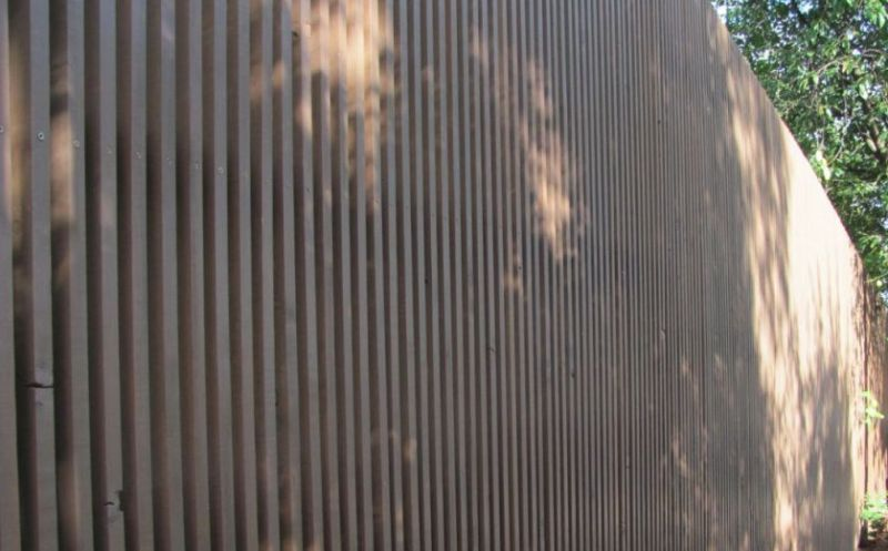 Забор деревянный штакетник узкий | Фото - 7