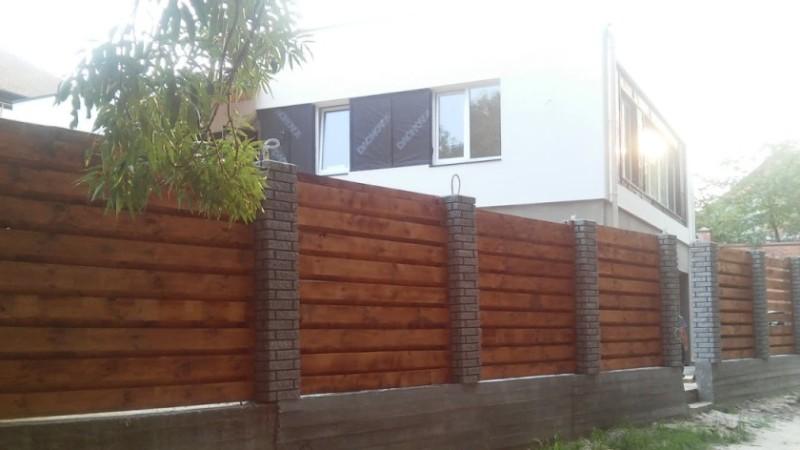 Забор деревянный жалюзи   Фото - 5
