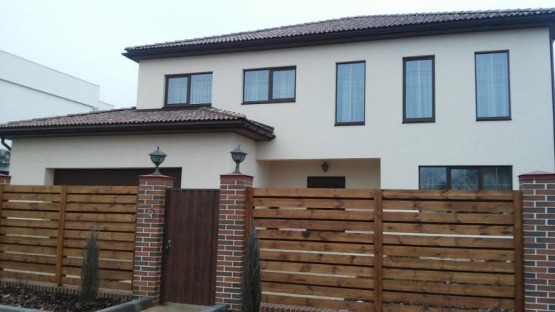 Забор деревянный жалюзи   Фото - 6