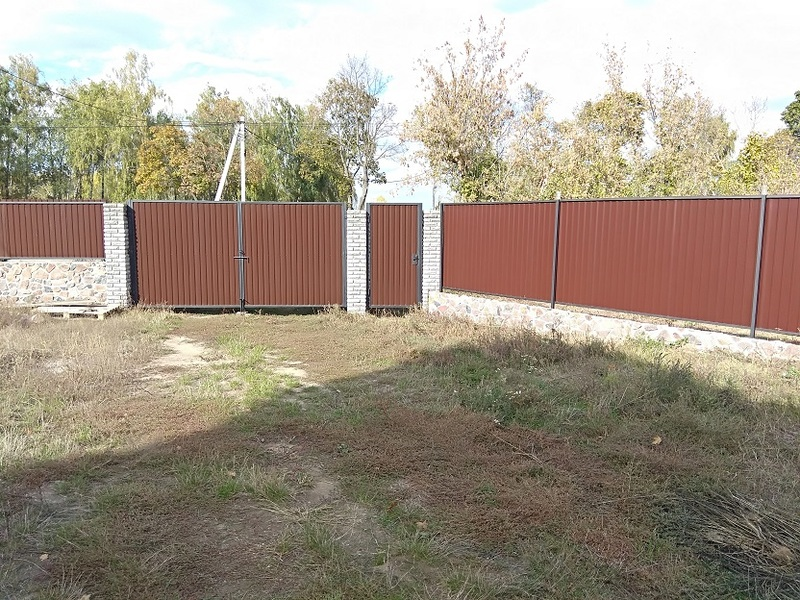 Забор из профнастила | Фото - 2