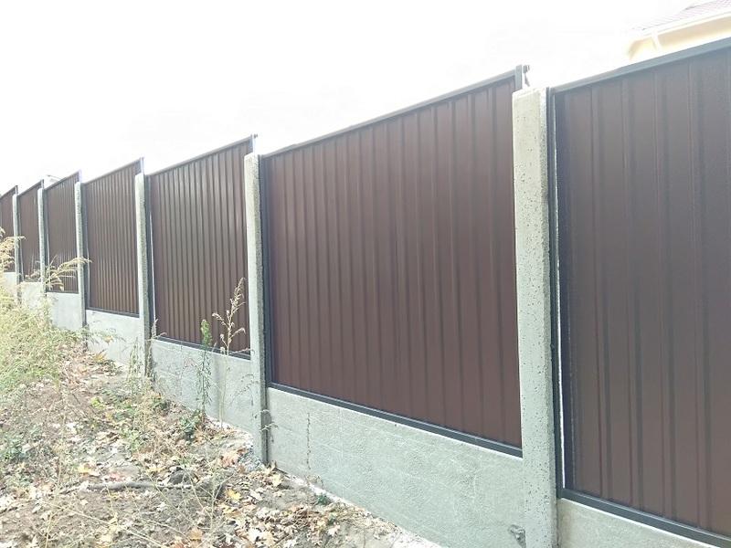 Забор из профнастила | Фото - 3