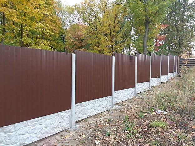 Забор из профнастила | Фото - 0